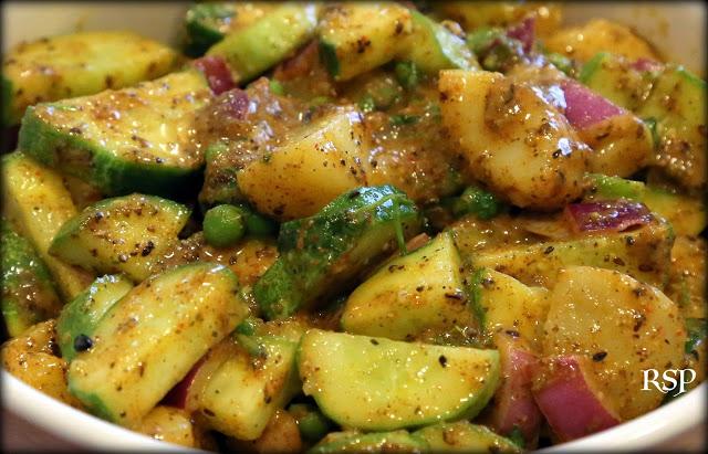 Spicy Kakro ko Achar | Potato Salad Recipe