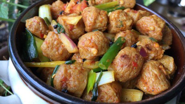 Spicy Soybean or Masyura choila