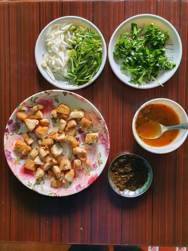 Chicken Choila ingredients