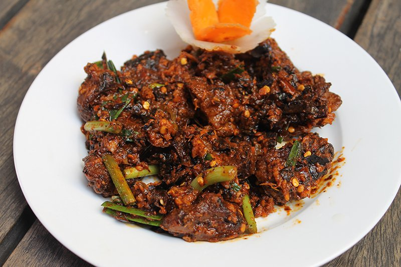 newari set: Spicy Buff Choila