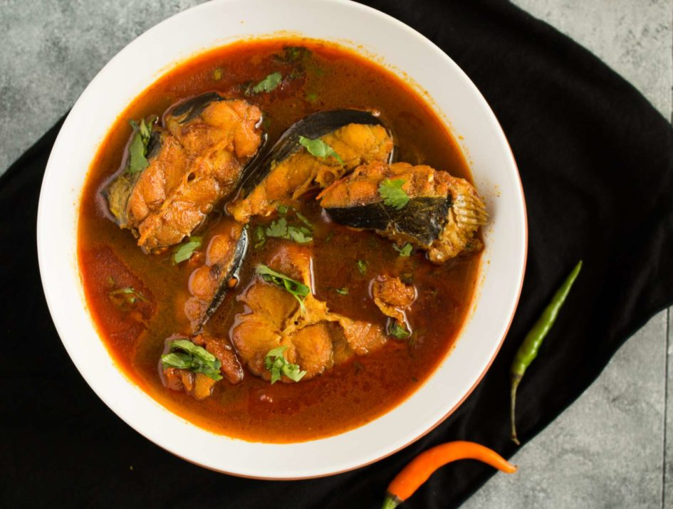 Homemade Fish Curry