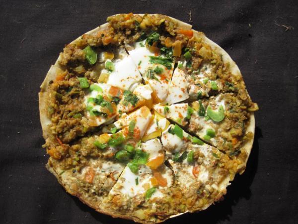 newari set: Newari Pizza