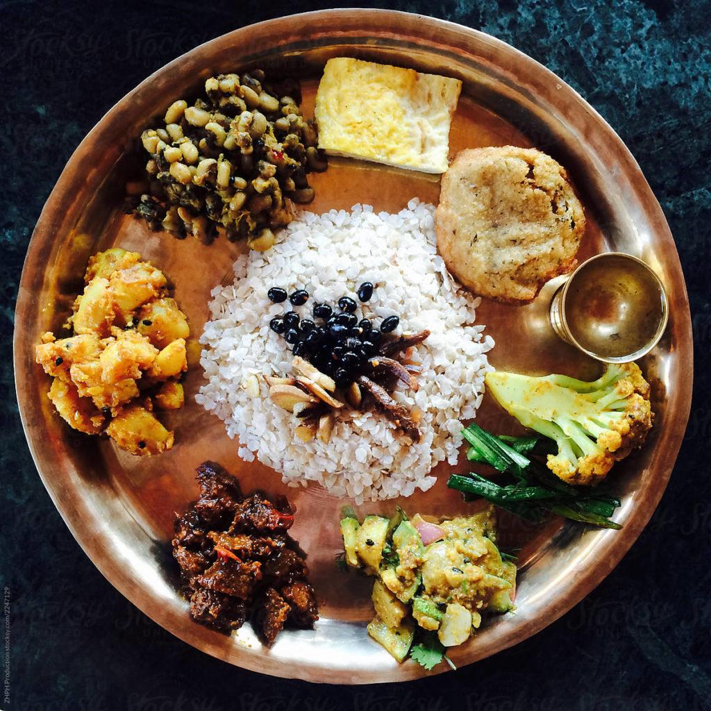 newari set: Newa Bhoye Set