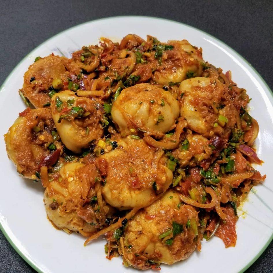 Chicken Choila Momo