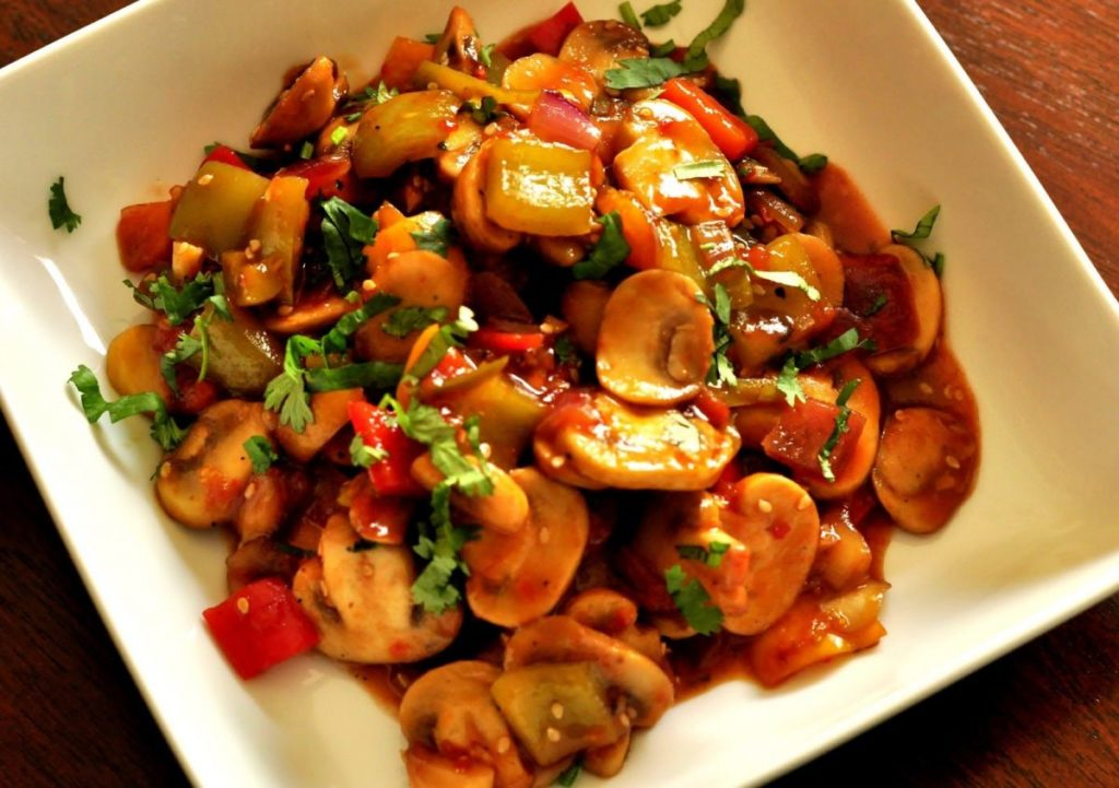 Delicious Mushroom Chili