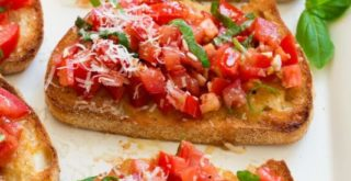Best Bruschetta Recipe | Tomato Brushcetta Recipe